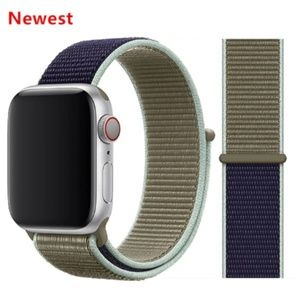 NEW [BAND] Khaki Strap Loop For Apple Watch